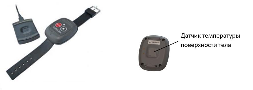 Браслет SafeLife с датчиком температуры тела картинка